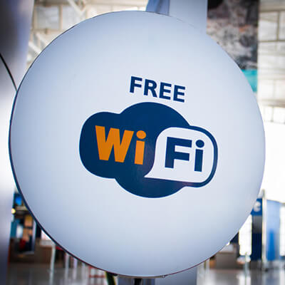 Free WiFi for Customers